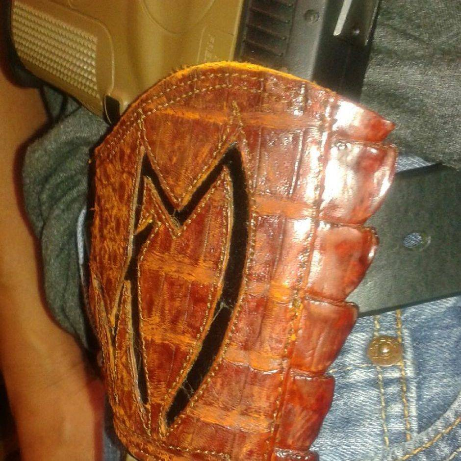 Custom Gun Holster by Ramirez Boot Shop